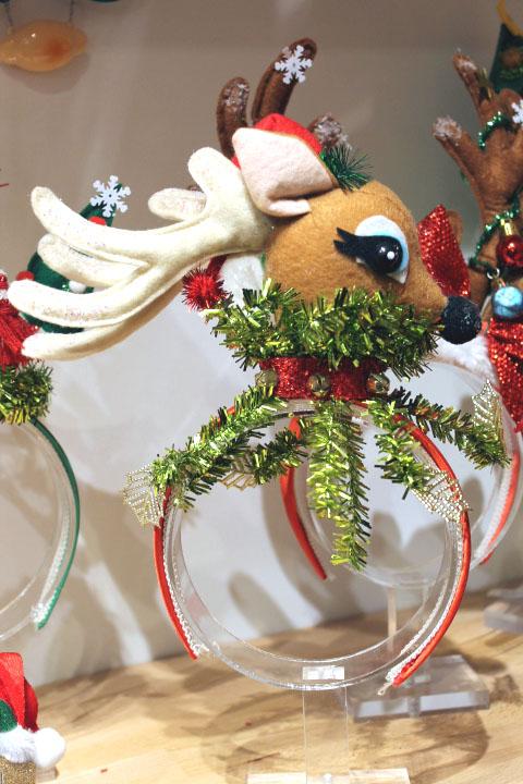 christmas holiday headbands reindeer - Houston Christmas Decorating Service