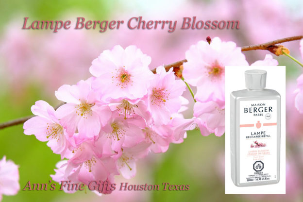 cherry blossom lampe berger Anns Houston tx